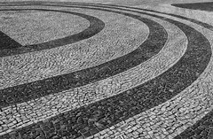Sidewalks of Rio (beckstei) Tags: rio stone de janeiro mosaic patterns cobblestone copacabana sidewalk tiles paving flamengo porcao tiling calada