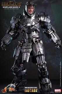 【追加新圖】Hot Toys - MMS237D06 - 鋼鐵人2: 1/6比例 鞭狂馬克2 Whiplash Mark II