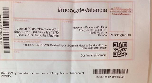 Thumbnail for #MOOCafeValencia