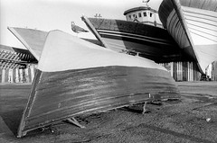 Scan-140223-0006.jpg (mathendrix) Tags: africa analog harbor blackwhite fishing ship marrakech nikonf3 essaouira auswahl marroco fujineopan400 roll5 homedeveloping 2013 nikoncoolscan5000ed