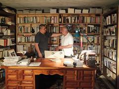 Me and father (Vicente Morales) Tags: sergio familia mexico biblioteca vicente libros generaciones alvaro morales