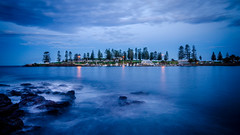 Kiama 17 minutes after sunset (Donny$) Tags: sunset holiday seascape beach night speed landscape photography coast nikon long exposure slow south australia tokina coastal filter nsw nd shutter activity kiama activities variable hoya oceania illawara 1116mm d7000