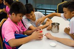 Ice cream making using Liquid Nitrogen (Jake Wang) Tags: city school snow ice singapore cream bowen secondary jurong sec sch liquid making nitrogen