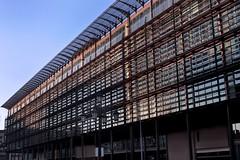 OVIEDO / EASMU (Edificio Administrativo de Servicios Múltiples) (Saúl Tuñon Loureda) Tags: españa architecture de teatro spain arquitectura nikon theatre asturias oviedo premios principado principe asturies campoamor cityspace