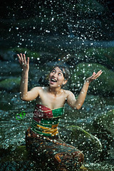 2014_06_01_1923_Playing with water (gedelila) Tags: bali sexy water beauty river sungai budaya wanita gadis gadisbali gadiscantik gadissexy budayabali budayaindonesia strobistbikinisexymodelfashion balinisepeople gedelila