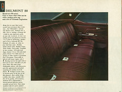 1967 Oldsmobile Delmont 88 Holiday Sedan Interior (coconv) Tags: pictures auto old holiday classic cars car sedan vintage magazine ads advertising cards photo flyer automobile post image photos antique interior seat postcard rear ad picture images advertisement vehicles photographs card photograph postcards 1967 vehicle autos collectible collectors 88 brochure 67 automobiles olds oldsmobile dealer delmont prestige