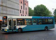 Arriva Midlands North 2740 CX04EHV VDL SB120 Wright Cadet former Arriva Cymru 2486 (chrisbell50000) Tags: 2 bus station wales 1 shropshire branded north cymru shrewsbury route deck single former wright brand branding 2a cadet midlands decker 2c arriva vdl 2740 2486 sb120 cx04ehv chrisbellphotocom