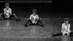 Three of a Kid (lothar1908) Tags: bw italy 3 canon children teatro three blackwhite dance costume italia child faces bambini milano stage danza performance perspective bn diagonal 70200 biancoenero spettacolo palco bambino fotocamera palcoscenico 5dmarkiii ef7020028lisii