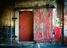 Behind the Red Door (Sky Noir) Tags: door red urban industrial decay warehouse behind artifact urbex skynoir
