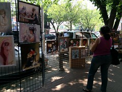 Whyte Avenue Art Walk 2014 (raise my voice) Tags: old art edmonton walk strathcona avenue whyte