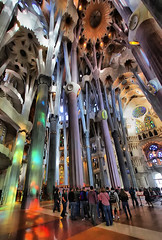 La Sagrada Familia (dbullens) Tags: barcelona architecture google spain churches lasagradafamilia bing lasagrada