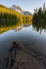 String Lake Sunrise (nickrhenderson) Tags: wyoming mountmoran grandtetonnationalpark stringlake leighlake