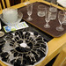 Selection glassware and crockery