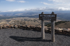 """Mt. Washburn sign • <a style=""""font-size:0.8em;"""" href=""""http://www.flickr.com/photos/63501323@N07/25390184789/"""" target=""""_blank"""">View on Flickr</a>"""