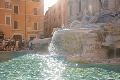 Throw in a coin; Make a special wish (RoySutherland235) Tags: trevifountain rome roma fountain beautiful