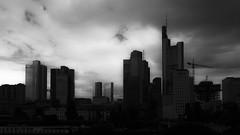gloomy view (perceptions (off)) Tags: frankfurt skyline silhouette urban architecture
