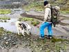 Taking a break (danielfoster437) Tags: arktis bergwandern bjerghike dog dogdrinkingwater hikingdog hikingtrail hund mountainhiker mountainhiking naturewalking noordpool pause svalbard takingabreak vej walkingtrail wandelpad ハスキー犬 ハイキング 歩く 散策
