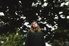 the art of not caring (Remy Fisher) Tags: selfportrait portrait outdoors outside autumn girl conceptual concept selftaught trees forest
