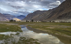 Nubra valley (Fil.ippo) Tags: nubravalley ladakh india landscape reflection sunset mountains filippo filippobianchi d610 nikon hdr