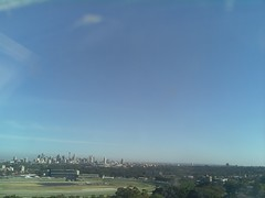 Sydney 2016 Oct 21 07:53 (ccrc_weather) Tags: ccrcweather weatherstation aws unsw kensington sydney australia automatic outdoor sky 2016 oct earlymorning