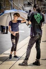 Love the look! (Rainy Day Lover) Tags: street mexicocity punk umbrella