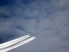 Lufthansa Airbus A380 (Leedseagle5) Tags: contrail vapour trail garrowby hill yorkshire nikon coolpix p900 leeds lufthansa star alliance easyjet klm airbus skywatcher slyliner dobsonian 200p 8 boeing 737 747 757 767 e3 sentry awacs volga dnepr ilyushin76td emarites delta atlantic airways american airlines a330 voyager kc3 a380