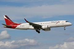 N985TA MIA 21-11-2013 (Plane Buddy) Tags: n985ta embraer erj190 erj 190 taca miami kmia
