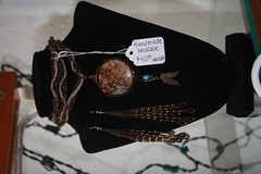 Portfolio Oct 2016 (Barefoot Hippies) Tags: wedding bridesmaid bride bridal one kind yachats oregon barefoot hippies neciah morrison hippy boho bohemian jewelry theatrical whimsical earrings necklaces bracelets anklets festival ooak shabby chic theatre stage fiber art fun flair