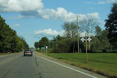 M-66 and M-60 Duplex (formulanone) Tags: michigan road sign m60 m66 66 60