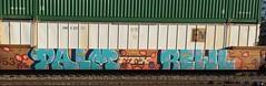 Palm Rewl (MC. Squared) Tags: stacker graffiti freight intermodal lsd phd rewl palm