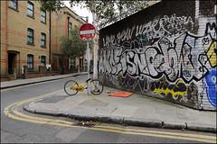 Anoe / Isno / Dowt (Alex Ellison) Tags: eastlondon urban graffiti graff boobs shoreditch dowt dfn anoe isno