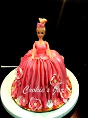 Barbie 1 (virsingh77) Tags: barbie doll girl cake cookiesjar kids