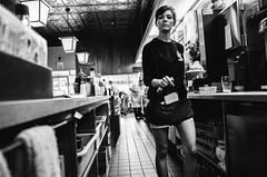R0033817 (G. L. Brown) Tags: texashot waitress wellsville restaurant diner streetphotography