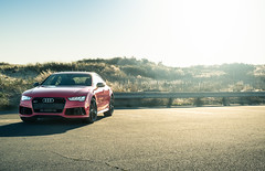 RS7 Big and Bold (1 of 1) (Josh Gengstout) Tags: audi rs7 automotive speedhunters egarage red beach car cars auto photo