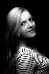 Shooting Sophie (Ar-photography.fr) Tags: noiretblanc portrait blackwhite studio