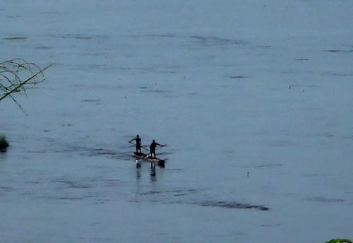 El río congo.   Kinshasa. RD Congo