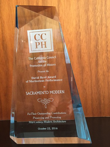 SacMod received an award from the California Council for the Promotion of History