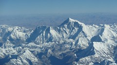 The Mighty Mount Everest (the Lady Traveler :)) Tags: everest himalayas mountains