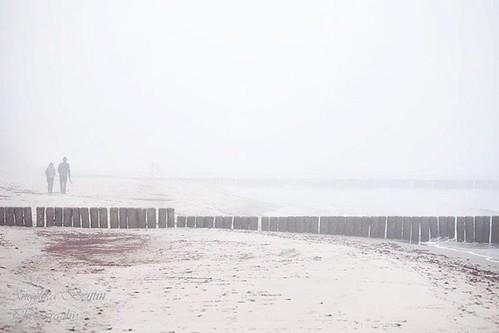 #nienhagen #mecklenburgvorpommern #nebel #november #beach #strand #baltic  #ostsee