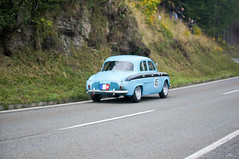 Renault Dauphine Gordini (1964) (PWeigand) Tags: 2015 bayern berchtesgaden edelweissclassic oldtimer renaultdauphinegordini1964 rosfeldrennen deutschland