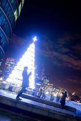 Christmas Tree (MOLIBLOG) Tags: tower bridge river thames hms belfast the shard