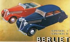 Berliet Dauphine (1937) (andreboeni) Tags: classic car automobile cars automobiles voitures autos automobili classique voiture retro auto oldtimer klassik classico classica publicity advert advertissement berliet dauphine