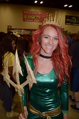 DSC_0038 (Randsom) Tags: alamocitycomiccon sanantonio texas october 2016 cosplay costume halloween fun colorful convention comicbook mera justiceleague smile lovely beautiful sexy girl female woman superheroine heroine