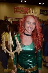 DSC_0038 (Randsom) Tags: alamocitycomiccon sanantonio texas october 2016 cosplay costume halloween fun colorful convention comicbook mera justiceleague smile lovely beautiful sexy girl female woman superheroine heroine