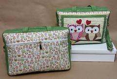 Bolsa Notebook. (Cleide Patch e Afins) Tags: pasta bolsa notebook corujas patchaplique
