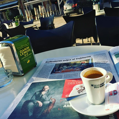Fem cafè i... #coffee&news #coffestorming