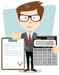 Accountant with a calculator, vector illustration (dannacastro) Tags: accounting accountant business concept bank loan tax app calculator financial account bookkeeper services hand management bookkeeping report funny vector illustration businessman analysis calculating isolated person man busy work occupation manager data information success character teacher student profession economy young school education cartoon lecturer expert clipboard checklist approved contract zzzaggabamgggphfhccagfhjgfhddbdcdg