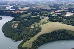 Tregothnan house & estate (John D F) Tags: tregothanan mansion estate cornwall aerial aerialphotograph aerialimage aerialphotography aerialview aerialimagesuk britainfromabove britainfromtheair viewfromplane boscawen