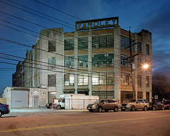 Yardley Building (devb.) Tags: 4x5 largeformat portra400 chamonix045n2 hudsoncounty nj