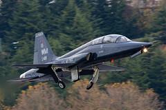 RIBEYE 1 (Kaiserjp) Tags: 6510419 ribeye1 spiritofwindsor t38 t38a usaf wm whiteman airforce b2 trainer boeingfield bfi kbfi seattle washington